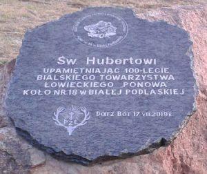 Pamiątkowa tablica upamiętniająca 100-lecie Koła